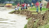 Erosion by the Padma river continues
