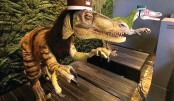 Japan hotel staffed by robot dinosaurs