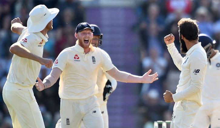 Ali gets Kohli as fourth Test heads for thrilling finish