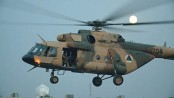 Helicopter with 10 aboard crashes near Afghan army base, 3 rescued