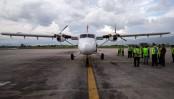 5 Hurt as plane skids off runway at Kathmandu Airport