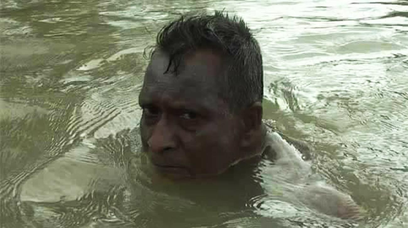 64- year-old  freedom fighter to swim 186 kms to set Guinness World Record