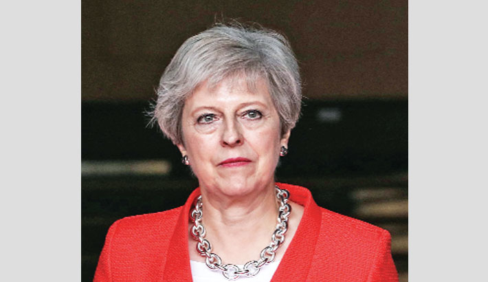 May vows no compromise on Brexit plan as oppn grows