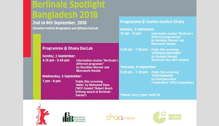 Berlinale Spotlight begins in Dhaka