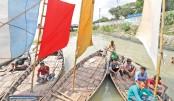 Sailing Boats in Buriganga