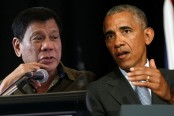 Philippines' Duterte apologises for cursing Obama