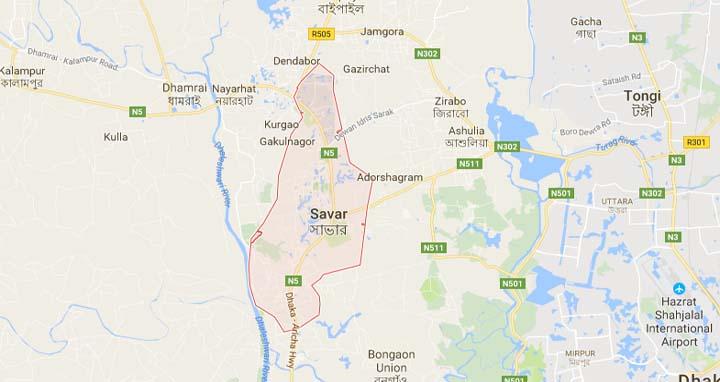 3 killed in Savar road crash