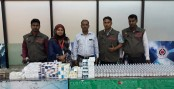 Huge illegally imported medicine seized at Dhaka airport