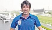 Bashundhara Kings coach Oscar Bruzon in city