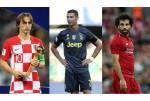 Ronaldo, Salah and Modric nominated for FIFA best player award