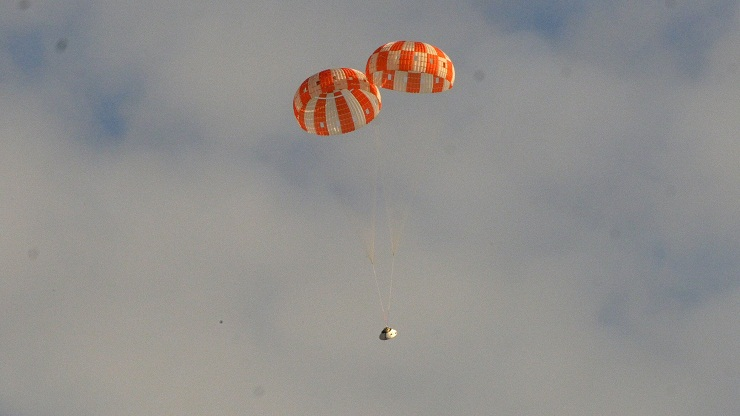 NASA to test parachute system for landing spacecraft on Mars