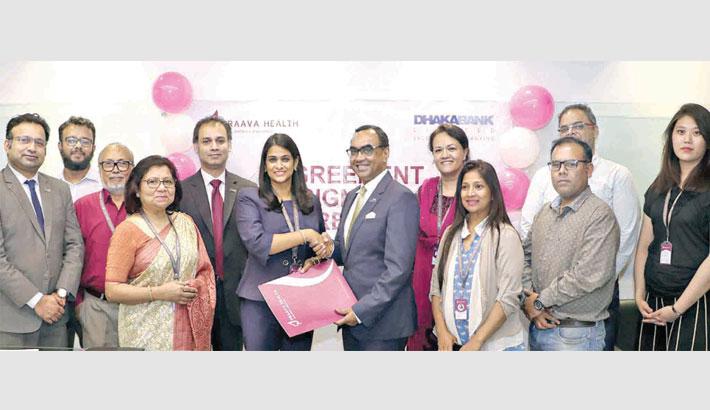 Dhaka Bank, Praava Health ink deal