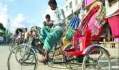 Battery-run rickshaws still ply city streets