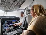 PM Sheikh Hasina inaugurates Dreamliner Akashbeena