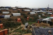 14 houses gutted at Rohingya camp in Teknaf