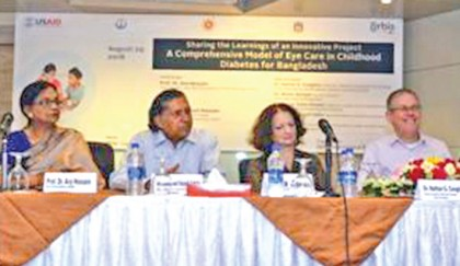 Diabetic children need comprehensive eye care services: Experts