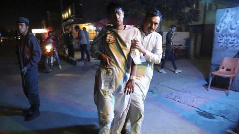 Afghanistan conflict: Bombers kill 20 at Kabul sports club