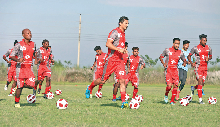 Bashundhara Kings begin practice camp
