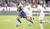 Lloyd double  as US women  rout Chile