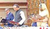 Newly-elected mayors of Rajshahi and Sylhet city corporations