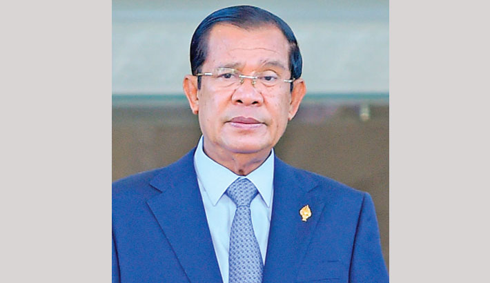 Hun Sen voted in by one-party parliament