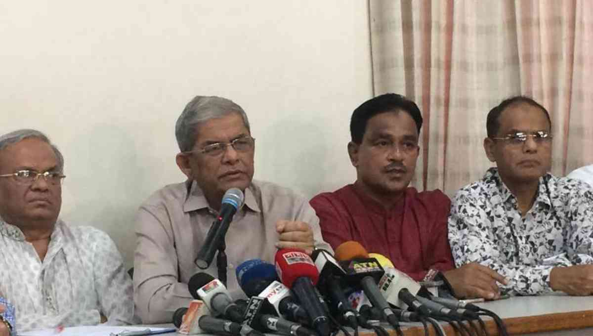 BNP bins Prime Minister's remark over Khaleda's trial as 'incorrect'
