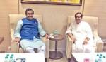 Zaker Party chair meets BJP leader