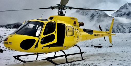 Helicopter crash in Nepal kills 5, leaves 1 missing