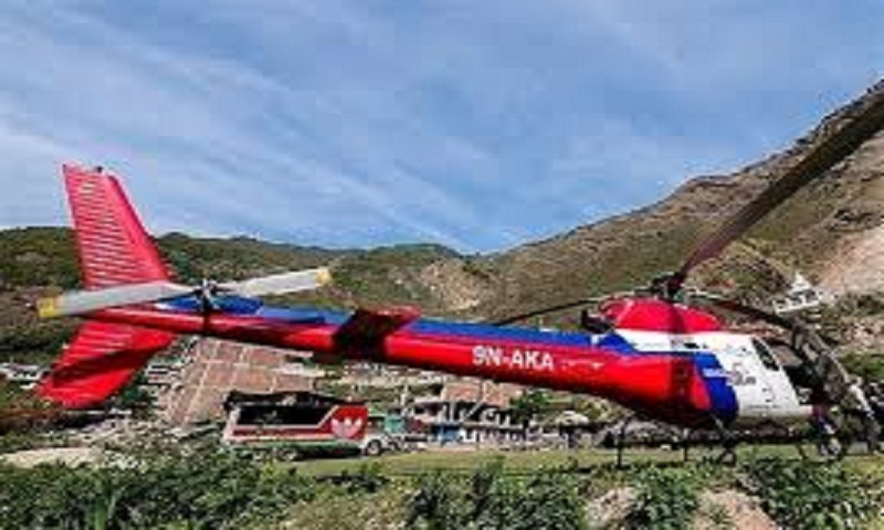 Helicopter with 7 people on board missing in Nepal mountains