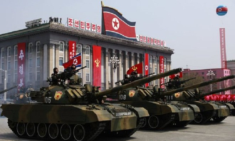 North Korea: Six months' training for 10 minutes on parade