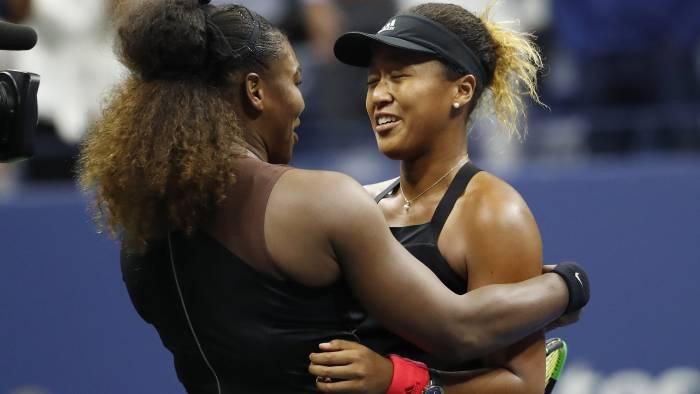 Kid's night: Osaka, 20, beats her idol Serena to win US Open