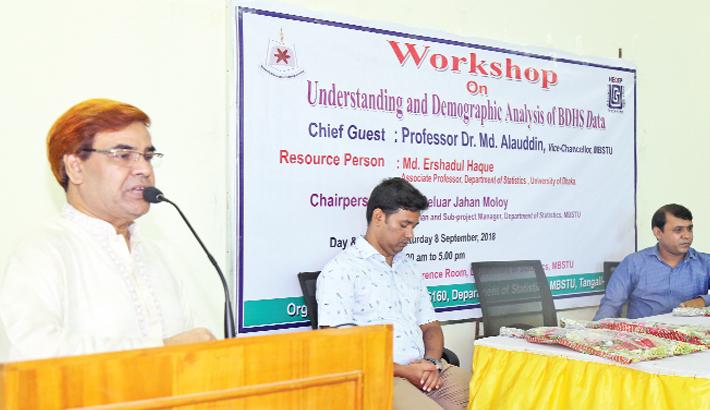 Workshop on 'Understanding and Demographic Analysis of BDHS Data'