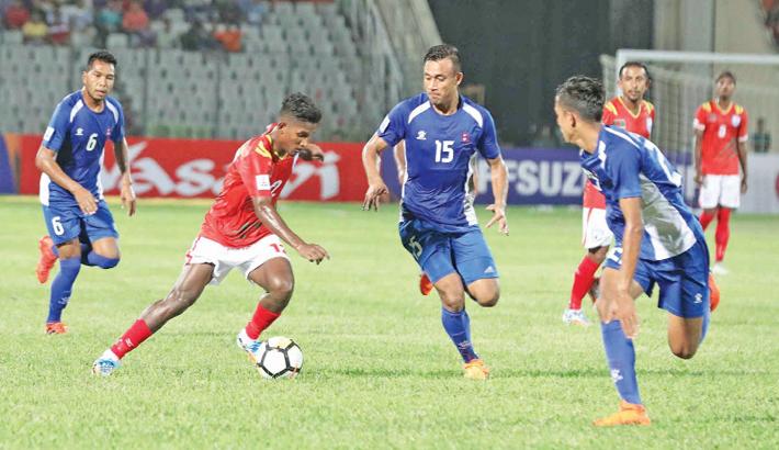 Nepal upset Bangladesh