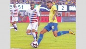 Brazil cruise over USA