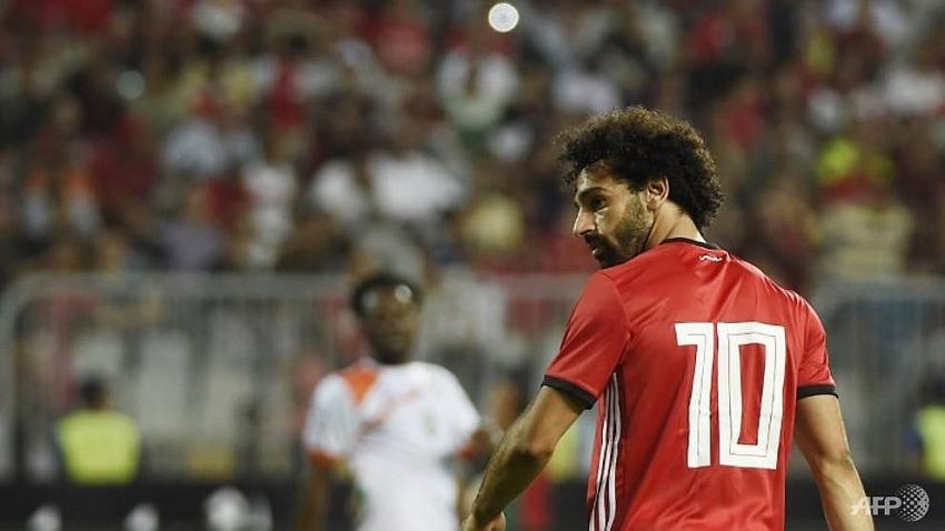 Salah scores twice, misses two penalties in Egypt romp