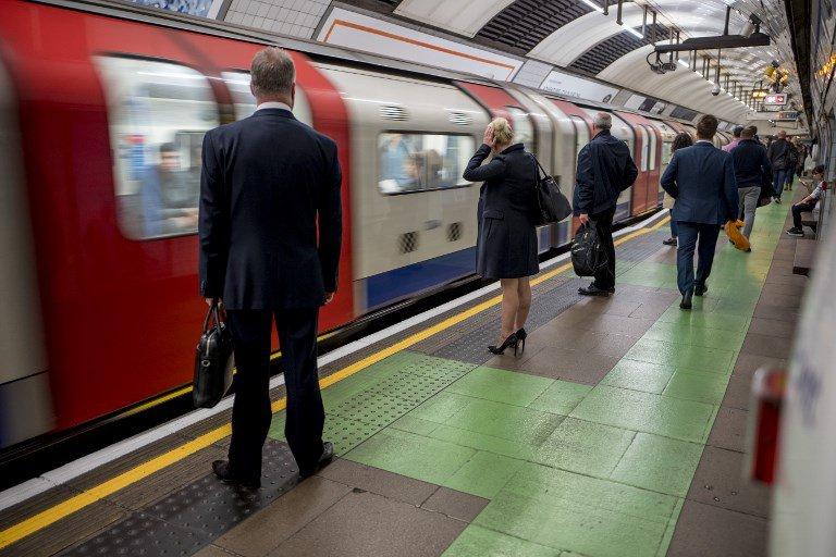 London underground train passes over family of three, they escape unhurt