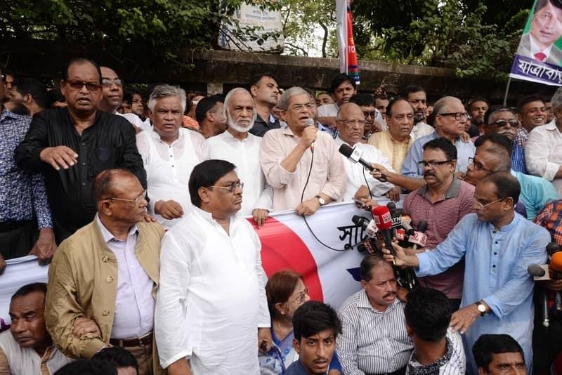Government  must release Khaleda for fair polls: BNP