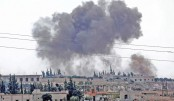 Russian air strikes on Syria's