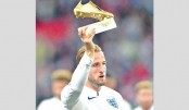 Kane receives Golden Boot award at adoring Wembley