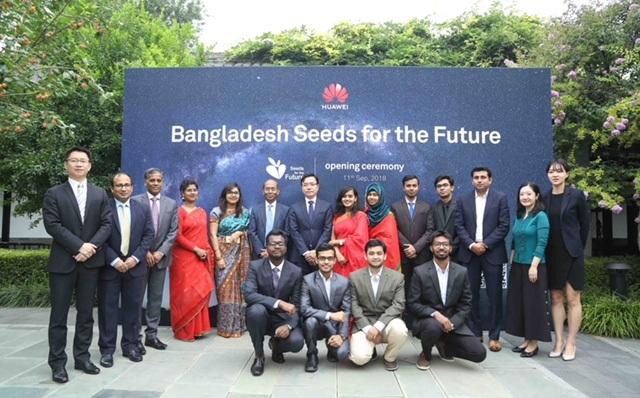 Huawei welcomes 10 Bangladeshi ICT talents in Beijing