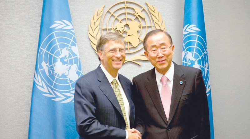Ban Ki-moon, Bill Gates head climate body