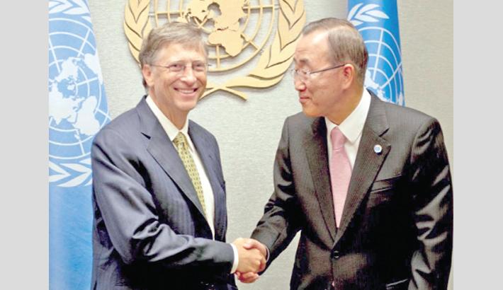 Ban Ki-moon, Bill Gates to head int'l climate body