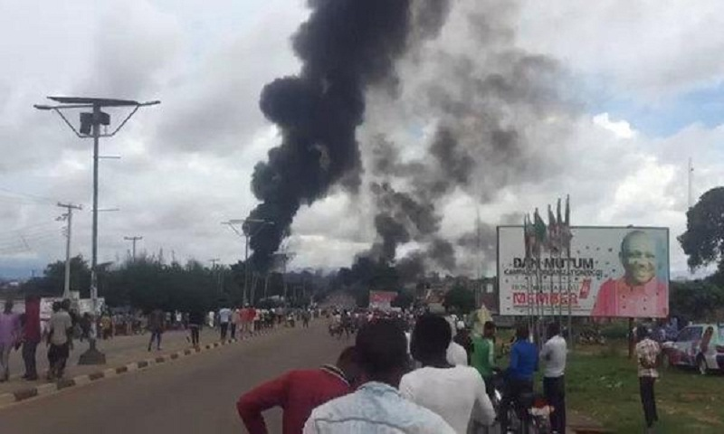 At least 35 dead in Nigerian tanker blast