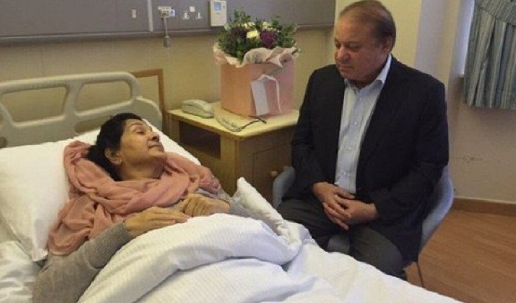 Pakistan mourns death of Kulsoom Nawaz, wife of jailed ex-PM Sharif