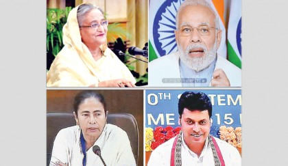 Indo-Bangla ties now a  role model for world