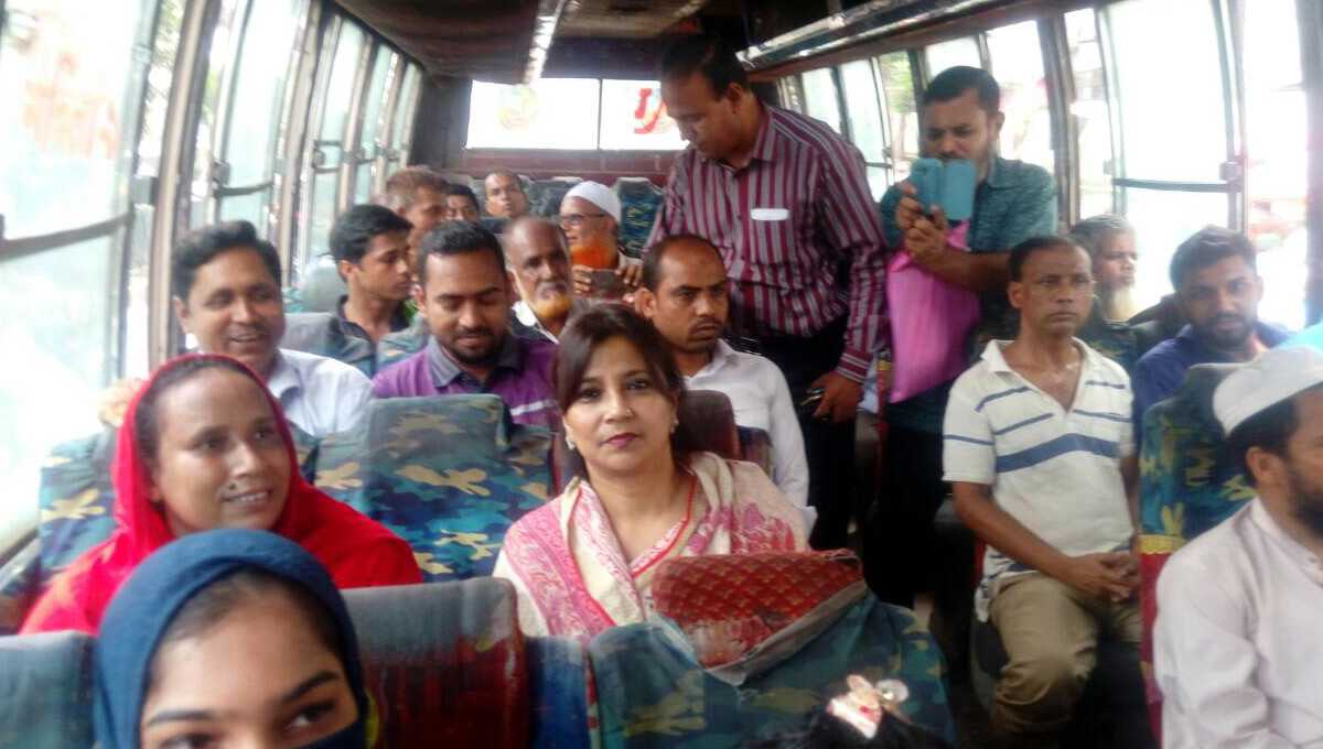 Tarana starts taking public transport 'to feel the pinch'