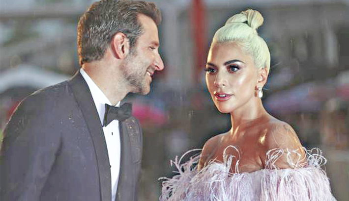 Gaga is moved to tears after A Star is Born receives standing ovation