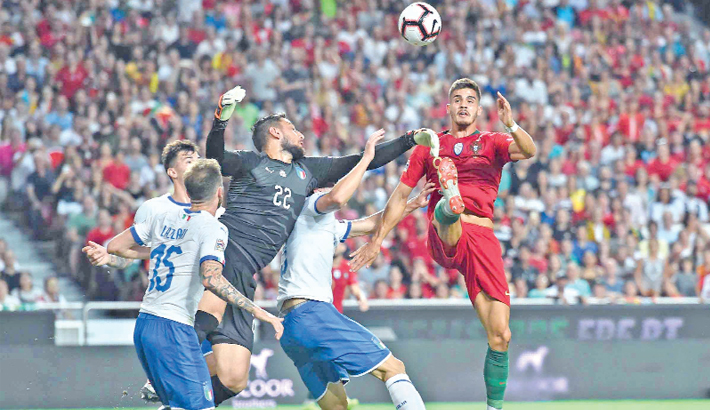 Silva lifts Portugal past Italy
