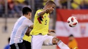 With no Messi, 35K see Argentina-Colombia draw at MetLife