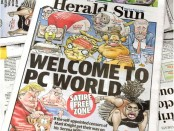 Australian newspaper defiantly reprints cartoon of Serena Williams
